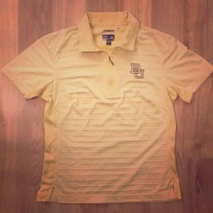 Adidas climacool athletic polo, Baylor, size small